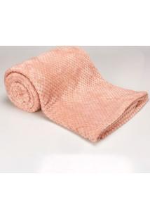 Cobertor Casal 1,80M X 2,20M Dobby Rose