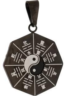 Pingente Yin Yang Tudo Jóias De Aço Inox Black