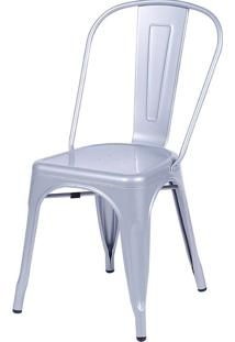 Cadeira De Jar Retro Or-1117 – Or Design - Cinza