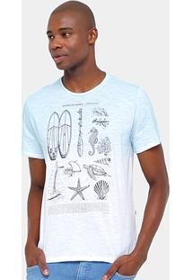 Camiseta Triton Flamê Degradê Stand Up Masculina - Masculino