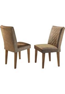 Cadeira Jade Animale Chocolate Imbuia