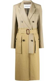Andersson Bell Trench Coat Com Cinto - Verde