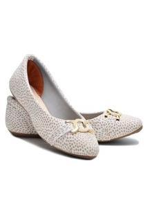 Sapatilha Feminina Estilo Shoes Ga600 Branca
