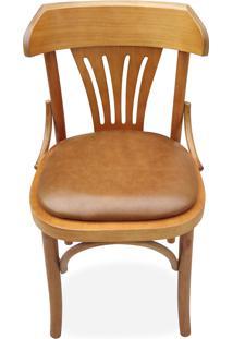 Cadeira Berlim Estofada Madeira Maciça Design By Michael Thonet