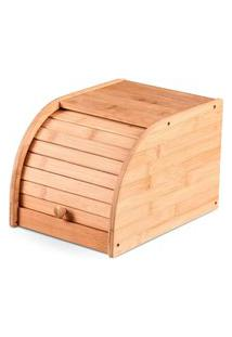 Porta Pão Bambu Com Tampa Pequeno Yoi Tyft