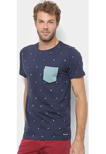 Camiseta Element Mawii-El01A0496 - Masculino-Verde