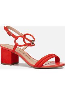 Sandália Feminino Milano Red/Red 10996