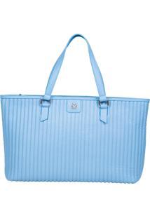 Bolsa Feminina Ana Hickmann Bag Soft Casual Azul - Kanui
