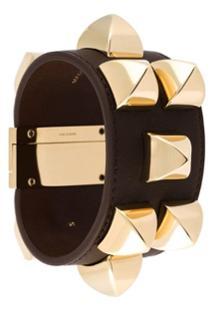 Givenchy Bracelete Com Tachas - Marrom