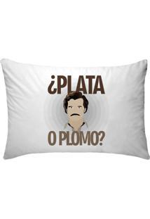 Fronha Para Travesseiros Nerderia E Lojaria Pablo Escobar Plato O Plumo Colorido