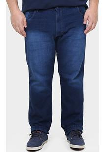 Calça Jeans Preston Plus Size - Masculino