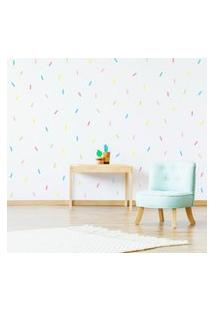 Adesivos De Parede Confetes Candy Colors 132Un Cobre 5M²