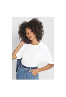 Camiseta Hering Lisa Off-White