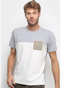 Camiseta Hd Especial Neutral Masculina - Masculino-Cinza
