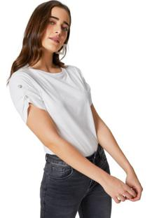 Blusa Oversized Detalhe Piercing