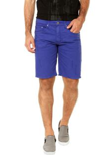 Bermuda Calvin Klein Jeans Bolsos Roxa