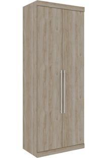 Guarda-Roupa Closet Modulado Virtual I 2 Pt 3 Gv Cedro Amadeirado