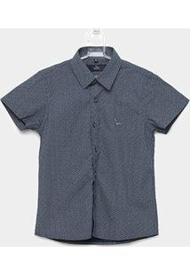 Camisa Infantil Yachtmaster Malha Tricoline Estampada - Masculino