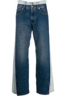 Maison Margiela Double-Denim Jeans - Azul