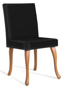 Cadeira Juliete T1104-Daf Mobiliário - Preto