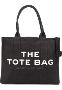 Marc Jacobs Bolsa Tote The Traveler - Preto