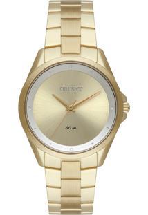 Relógio Orient Eternal Feminino Analógico Fgss0160 Dourado