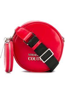 Versace Jeans Couture Bolsa Redonda - Vermelho
