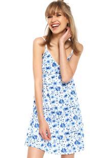 Camisola Malwee Liberta Curta Amamentação Branca/Azul