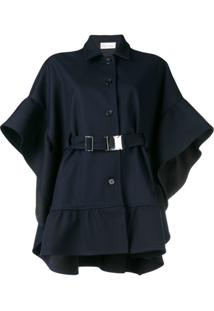 Red Valentino Oversized Belted Jacket - Azul
