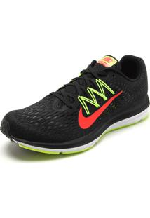 Tênis Nike Zoom Winflo 5 Preto