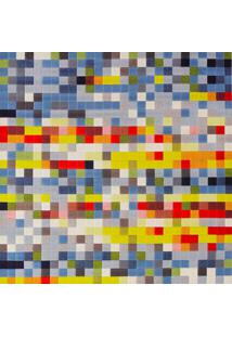 Tapete Para Sala De Estar Pixel 2,50X3,50 Colorido - Tapetes São Carlos