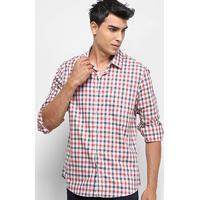 d12aaaf3ec887f Camisa Calvin Klein Xadrez masculina | El Hombre