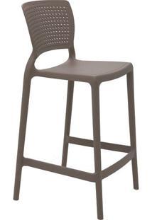 Cadeira Alta Safira- Cinza- 93,5X48X47Cm- Tramontramontina