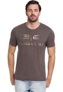 Camiseta Marrom Hangar