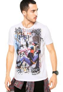 Camiseta Ellus 2Nd Floor Batman And Robin Branca