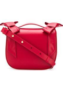 76d2e5a4f Farfetch. Bolsa Transversal Ombro Feminina Vermelha ...