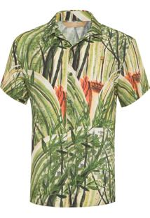 Camisa Masculina Bamboo - Verde