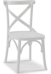 Cadeira De Jantar X Branca