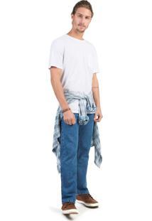 Calça Jeans Reta Basic Super Stone