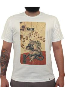 Are You Alive Or Just Surviving - Camiseta Clássica Masculina