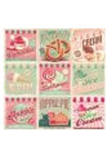 Adesivo De Azulejo Vintage Candy 20X20 Kit 24Un