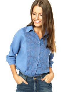 Camisa Mooncity Azul