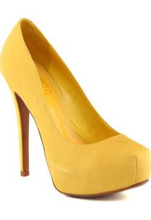 Sapato Meia Pata Acamurã§Ada- Amareloschutz