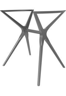 Base Para Mesa De Cozinha Retangular Baletto Platinum (55X66 Cm)