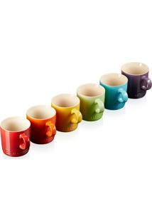Set 6 Canecas Expresso 100Ml Gift Collection - Le Creuset