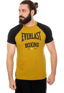 Camiseta Everlast Manga Raglã Boxing