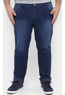 Calça Preston Plus Size Stone Jeans 20511 Gg 1 - Masculino