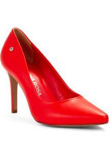 7e0dafacc9 ... Scarpin Salto Alto Rebite Personalizado Vermelho