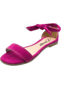Sandália Romântica Calçados Pink - Tricae