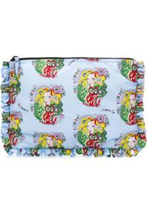 La Doublej Athena Hand Pochette Clutch Bag - Azul